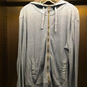 Banana zip up hoodie